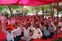 Condemns the imposition of the ESMA on employees of Haryana State Electricity Board