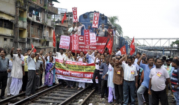 Historic General Strike: CITU Salute the Working Class of India