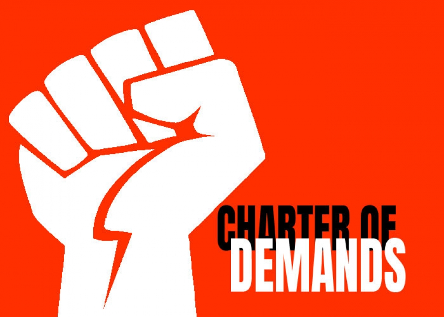 12 point charter of demands of joint trade union movement