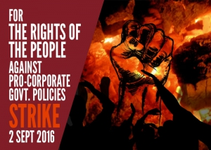 Foil the Conspiracy to Sabotage the Countrywide General Strike : STRIKE IS ON