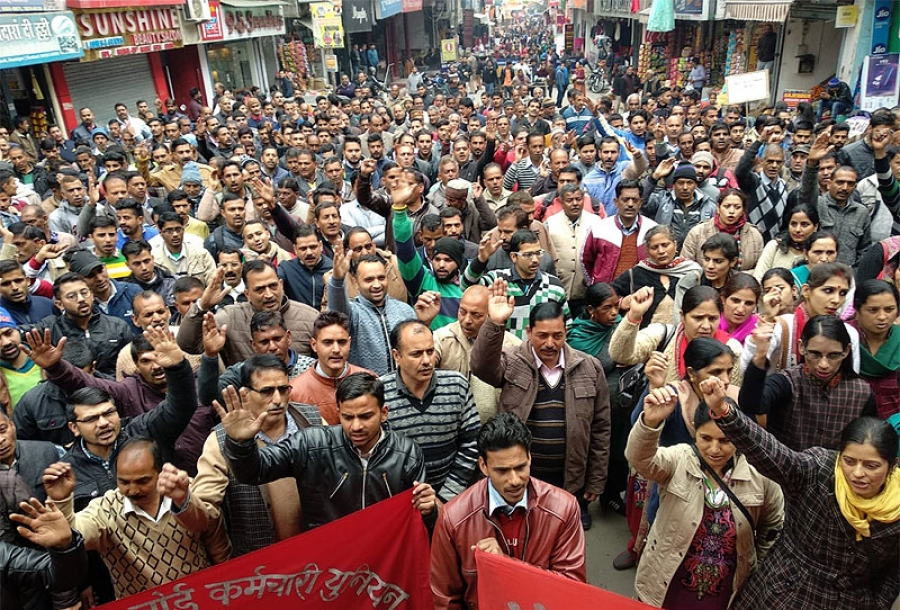 Two days' Countrywide General Strike  Working Class of India Rises In A Tide Against Modi Government's Policies