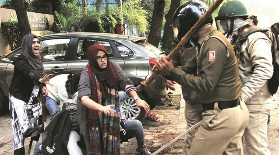 CITU condemns the Delhi Police brutality on Jamia Students